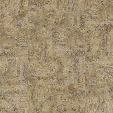 Product Sample of Shaw Floors Resort Tile Resilient Residential Unit flooring in the color Caramel                        available at Standard Paint and Flooring.