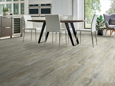 Room Image of Shaw Floors Rainier Plus Resilient Residential Unit flooring in the color Legend Pine available at Standard Paint and Flooring.