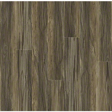 Product Sample of Shaw Floors Champion Plank Resilient Residential Unit flooring in the color Marathon                       available at Standard Paint and Flooring.