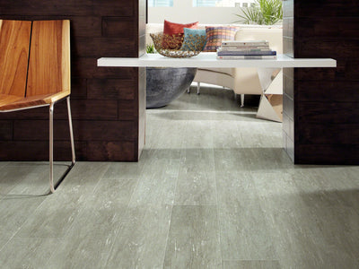 Room Image of Shaw Floors Champion Plank Resilient Residential Unit flooring in the color Speed                          available at Standard Paint and Flooring.