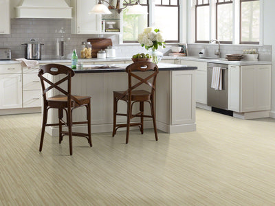 Room Image of Shaw Floors Cascades 12C Resilient Residential Roll flooring in the color Dalles available at Standard Paint and Flooring.