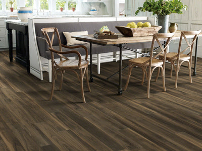 Room Image of Shaw Floors All American Resilient Residential Unit flooring in the color United available at Standard Paint and Flooring.