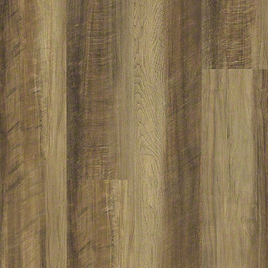 Product Sample of Shaw Floors Vigor 512G Plus Resilient Residential Unit flooring in the color Tawny Oak available at Standard Paint and Flooring.