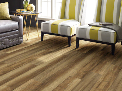 Room Image of Shaw Floors Vigor 512G Plus Resilient Residential Unit flooring in the color Tawny Oak available at Standard Paint and Flooring.