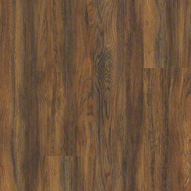 Product Sample of Shaw Floors Vigor 512G Plus Resilient Residential Unit flooring in the color Auburn Oak available at Standard Paint and Flooring.