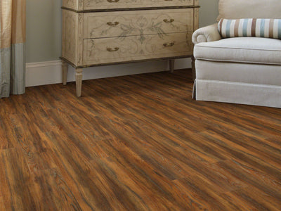 Room Image of Shaw Floors Vigor 512G Plus Resilient Residential Unit flooring in the color Auburn Oak available at Standard Paint and Flooring.
