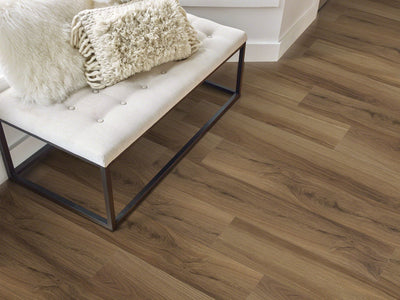 Room Image of Shaw Floors Vigor 512G Plus Resilient Residential Unit flooring in the color Hazel Oak available at Standard Paint and Flooring.