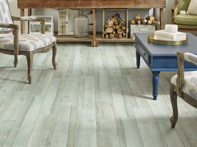 Room Image of Shaw Floors Pantheon Hd Plus Resilient Residential Unit flooring in the color Vista available at Standard Paint and Flooring.