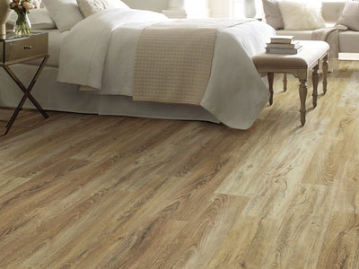 Room Image of Shaw Floors Pantheon Hd Plus Resilient Residential Unit flooring in the color Foresta available at Standard Paint and Flooring.