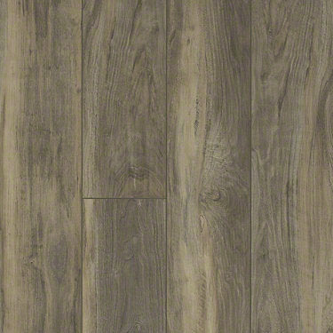 Product Sample of Shaw Floors Pantheon Hd Plus Resilient Residential Unit flooring in the color Ardesia available at Standard Paint and Flooring.