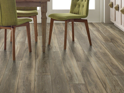 Room Image of Shaw Floors Pantheon Hd Plus Resilient Residential Unit flooring in the color Ardesia available at Standard Paint and Flooring.