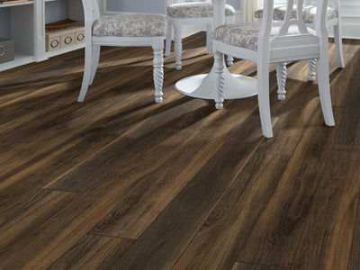 Room Image of Shaw Floors Pantheon Hd Plus Resilient Residential Unit flooring in the color Terreno available at Standard Paint and Flooring.