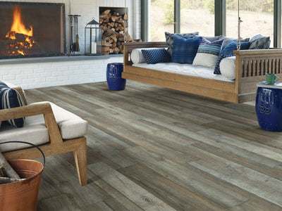 Room Image of Shaw Floors Pantheon Hd Plus Resilient Residential Unit flooring in the color Pergolato available at Standard Paint and Flooring.