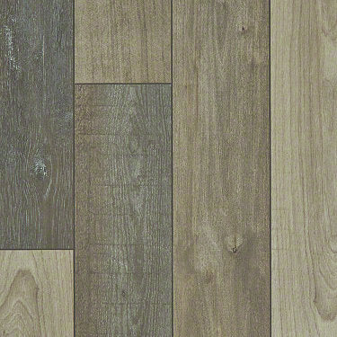 Product Sample of Shaw Floors Pantheon Hd Plus Resilient Residential Unit flooring in the color Prateria available at Standard Paint and Flooring.