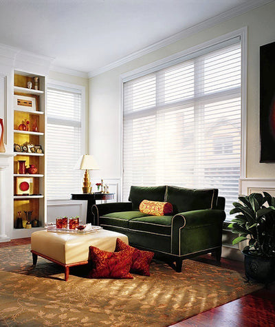Hunter Douglas Window Treatments Nantucket Living Room
