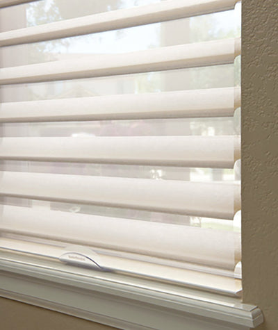 Hunter Douglas Nantucket window blinds and treatmentsavailable at Standard Paint and Flooring in the Yakima Valley, Washington State and Oregon.