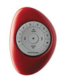 Hunter Douglas Pebble Remote White on Poppy