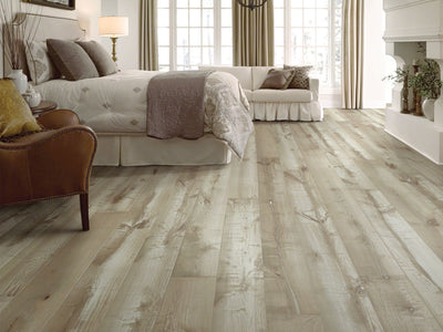 Room Image of Shaw Floors sequoia-6-3/8-hardwood  flooring in the color  available at Standard Paint and Flooring.