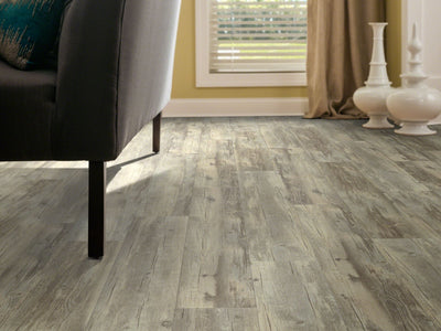 Room Image of Shaw Floors Transcend Resilient Residential Unit flooring in the color Kilim Beige available at Standard Paint and Flooring.