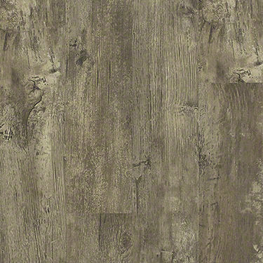 Product Sample of Shaw Floors Transcend Resilient Residential Unit flooring in the color Smokehouse available at Standard Paint and Flooring.