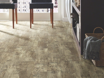 Room Image of Shaw Floors Transcend Resilient Residential Unit flooring in the color Smokehouse available at Standard Paint and Flooring.