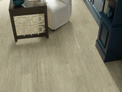 Room Image of Shaw Floors Sustain 12 Mil Resilient Residential Unit flooring in the color Hemp available at Standard Paint and Flooring.