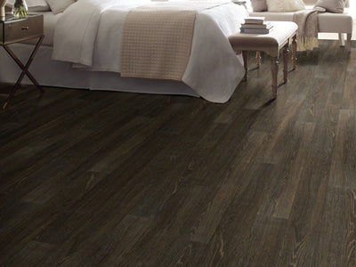 Room Image of Shaw Floors Sustain 12 Mil Resilient Residential Unit flooring in the color Barley available at Standard Paint and Flooring.