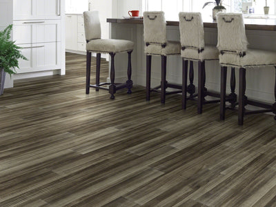 Room Image of Shaw Floors Sustain 12 Mil Resilient Residential Unit flooring in the color Cotton Seed available at Standard Paint and Flooring.