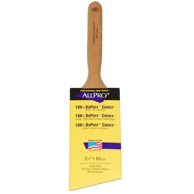 "ALLPRO dupont chinex 2.5"" paint brush, available at Standard Paint & Flooring."