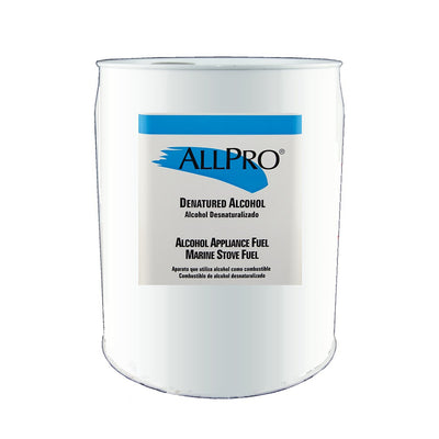 ALLPRO Denatured Alcohol 5 gallon size available at Standard Paint & Flooring.
