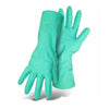 Boss Unlined 11Mil Nitrile Diamond Grip 13 inch Long Gloves