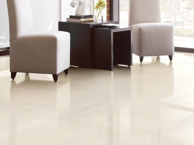 Room Image of Shaw Floors Architecture 12X24 Polished Style Ceramic Solutions flooring in the color Yadkin River Hickory available at Standard Paint and Flooring.