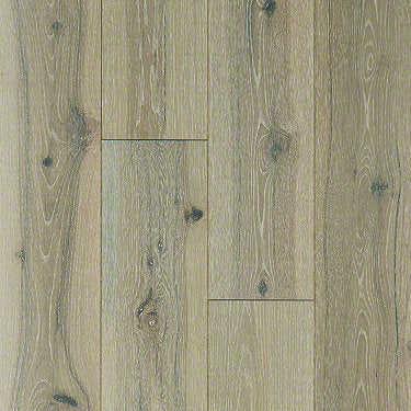 Product Sample of Shaw Floors Traders Junction Hardwood  flooring in the color Beiged Hickory available at Standard Paint and Flooring.