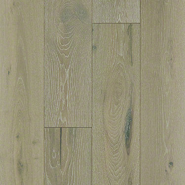Product Sample of Shaw Floors Traders Junction Hardwood  flooring in the color Champagne Oak available at Standard Paint and Flooring.