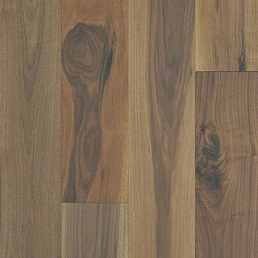 Product Sample of Shaw Floors Seaside Hardwood  flooring in the color Regency Walnut available at Standard Paint and Flooring.