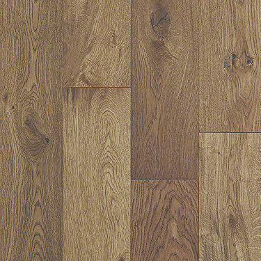Product Sample of Shaw Floors Seaside Hardwood  flooring in the color Warmed Oak available at Standard Paint and Flooring.