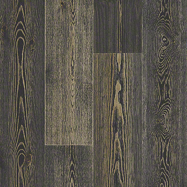 Product Sample of Shaw Floors Inspirations Hickory Hardwood  flooring in the color Midnight Pine available at Standard Paint and Flooring.