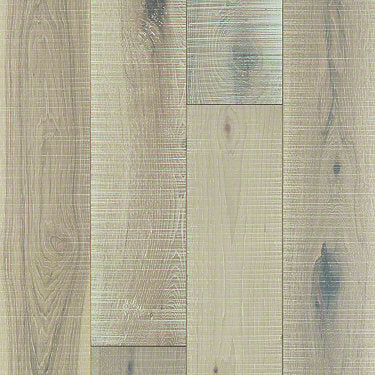 Product Sample of Shaw Floors Glacier Lake Hardwood  flooring in the color Frosted Hickory available at Standard Paint and Flooring.