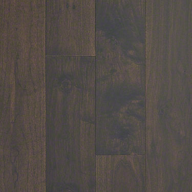 Product Sample of Shaw Floors Glacier Lake Hardwood  flooring in the color Western Walnut available at Standard Paint and Flooring.