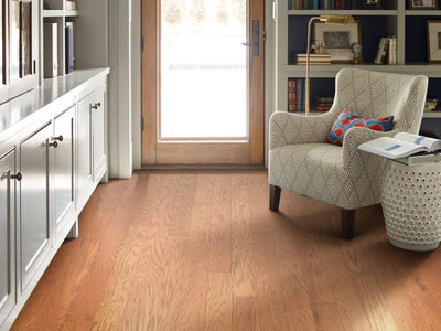 Room Image of Shaw Floors exquisite-hardwood  flooring in the color 12 available at Standard Paint and Flooring.