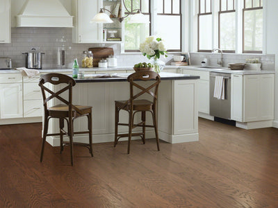 Room Image of Shaw Floors exquisite-hardwood  flooring in the color 14 available at Standard Paint and Flooring.