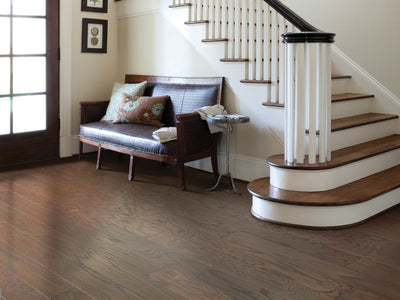 Room Image of Shaw Floors exquisite-hardwood  flooring in the color 11 available at Standard Paint and Flooring.