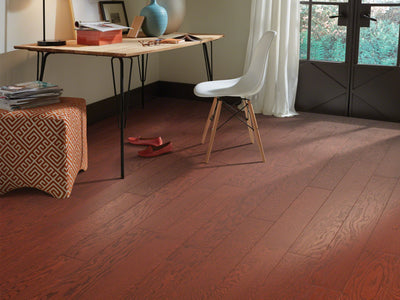 Room Image of Shaw Floors exquisite-hardwood  flooring in the color 18 available at Standard Paint and Flooring.