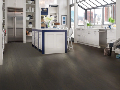 Room Image of Shaw Floors exquisite-hardwood  flooring in the color 13 available at Standard Paint and Flooring.