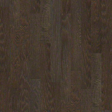 Product Sample of Shaw Floors Smoke House Hardwood  flooring in the color Chocolate     available at Standard Paint and Flooring.