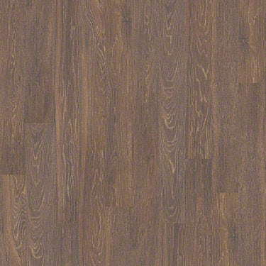 Product sample of Shaw Floors Belleview Style laminate flooring in the color Zinfandel available at Standard Paint and Flooring.