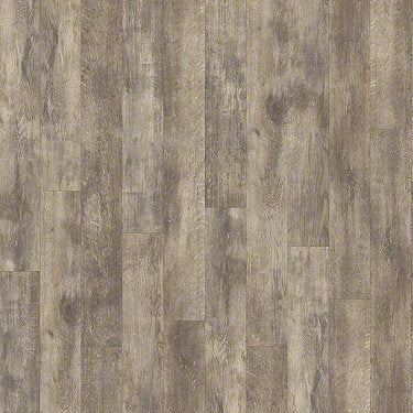 Product sample of Shaw Floors Antiquation Style laminate flooring in the color Boardwalk available at Standard Paint and Flooring.