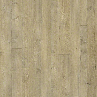 Product sample of Shaw Floors Castle Ridge Style laminate flooring in the color Forge available at Standard Paint and Flooring.