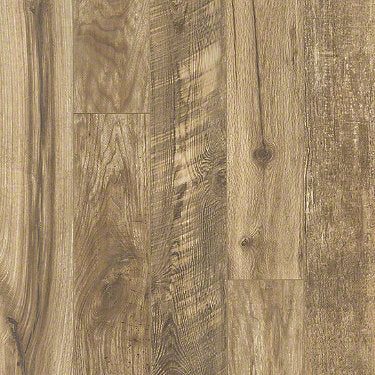 Product sample of Shaw Floors Carriage House Style laminate flooring in the color Composed Gold available at Standard Paint and Flooring.