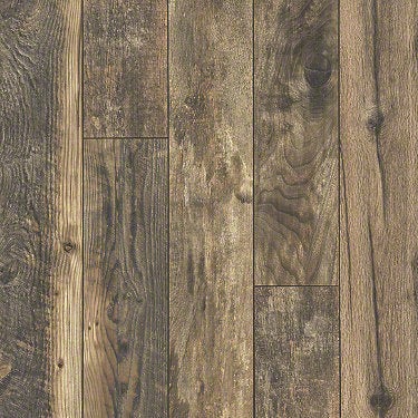 Product sample of Shaw Floors Carriage House Style laminate flooring in the color Assorted Canvas available at Standard Paint and Flooring.